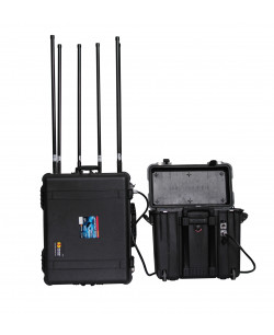 Falcon - powerful military/convoy pelican case cell jammer (800W)