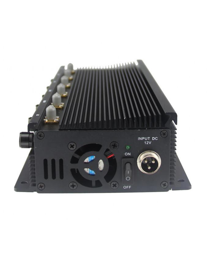 RCJ40-D Adjustable Powerful Desktop Mobile Jammer