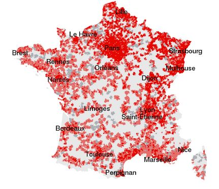Map Of 4g Coverage France.France