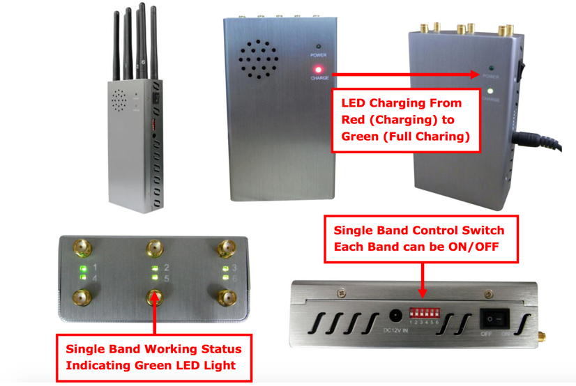 Audio jammer device , all tracking devices